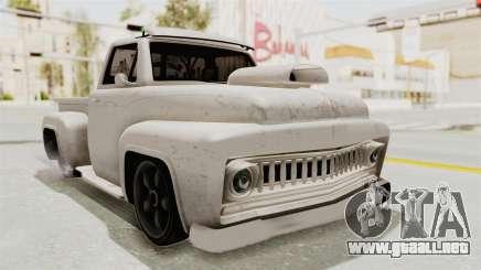 GTA 5 Slamvan Lowrider para GTA San Andreas