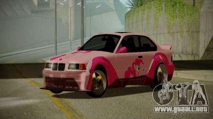 BMW M3 E36 Pinkie Pie para GTA San Andreas