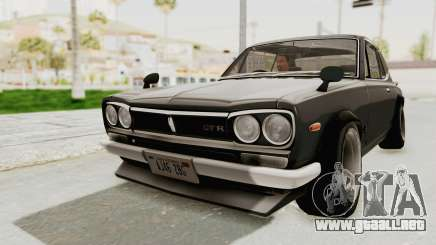 Nissan Skyline KPGC10 1971 Camber para GTA San Andreas