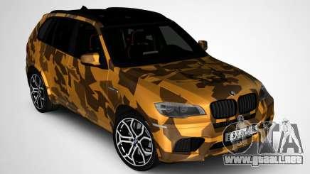 BMW X5M ( Davidich ) para GTA San Andreas