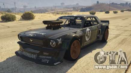 Ford Mustang 1965 Hoonicorn 1.2 [Replace] para GTA 5