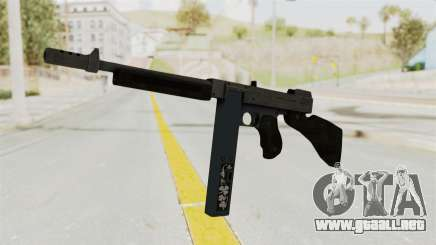 GTA 5 Gusenberg Sweeper Custom para GTA San Andreas