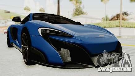 McLaren 675LT Coupe v1.0 para GTA San Andreas
