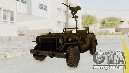 MGSV Jeep para GTA San Andreas