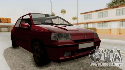 Renault Clio Williams para GTA San Andreas