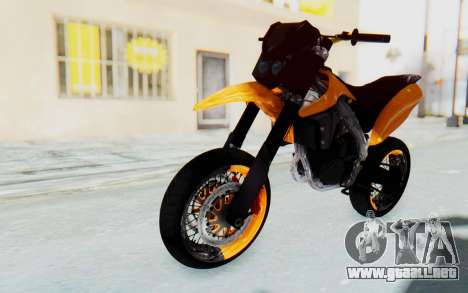 Kawasaki KLX150SD Tracker Supermoto para GTA San Andreas