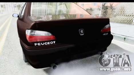Peugeot 406 Coupe para vista lateral GTA San Andreas