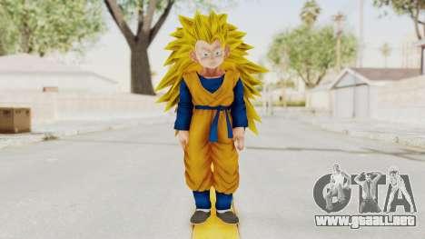 Dragon Ball Xenoverse Goten SSJ3 para GTA San Andreas segunda pantalla