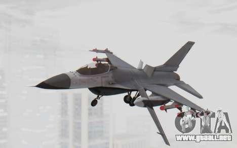 F-16 with Russian Missile para GTA San Andreas