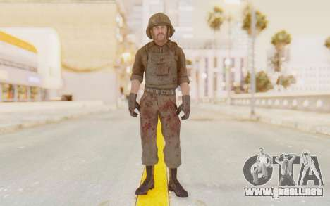 COD BO USA Pilot Vietnam para GTA San Andreas segunda pantalla