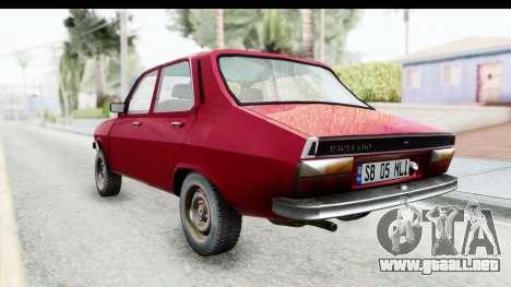 Dacia 1310 TLX v2 para GTA San Andreas vista posterior izquierda