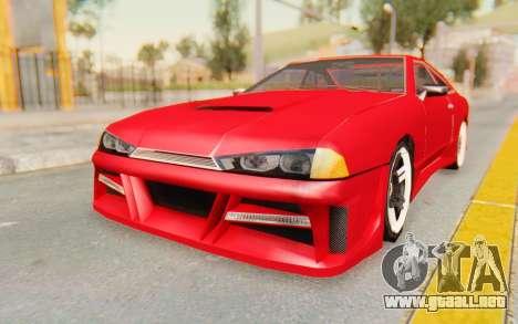 Elegy GT v1 para GTA San Andreas vista posterior izquierda