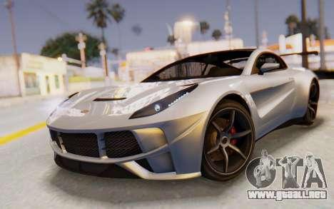 GTA 5 Dewbauchee Seven 70 SA Lights para GTA San Andreas