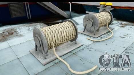 GTA 5 Buckingham Tug Boat v1 IVF para visión interna GTA San Andreas