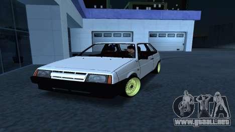 VAZ 2108 Postura para GTA San Andreas