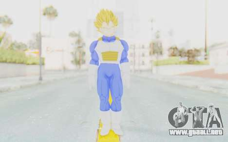 Dragon Ball Xenoverse Vegeta Android Saga SSJ para GTA San Andreas segunda pantalla