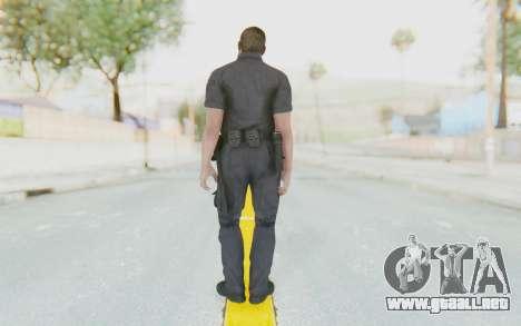 CoD BO2 LAPD v3 para GTA San Andreas tercera pantalla