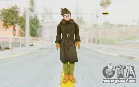 Dragon Ball Xenoverse Goten Time Patrol para GTA San Andreas segunda pantalla