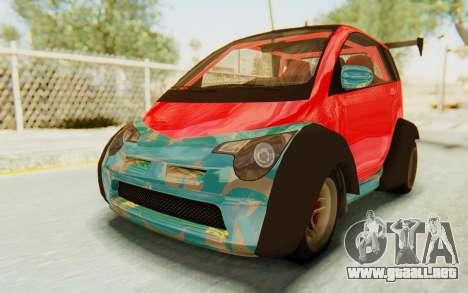 GTA 5 Benefactor Panto Custom para visión interna GTA San Andreas