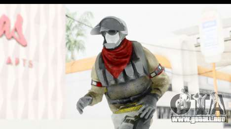 The Division Last Man Battalion - Support para GTA San Andreas