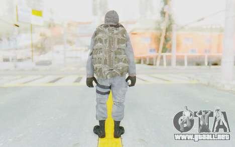 COD BO Grigori Weaver Winter para GTA San Andreas tercera pantalla
