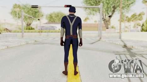 Trevor in Captain America Suit para GTA San Andreas tercera pantalla