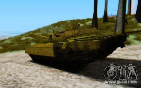 T-14 Armata Green para GTA San Andreas left