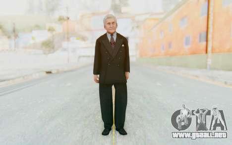 Mafia 2 - Leo Galente para GTA San Andreas segunda pantalla
