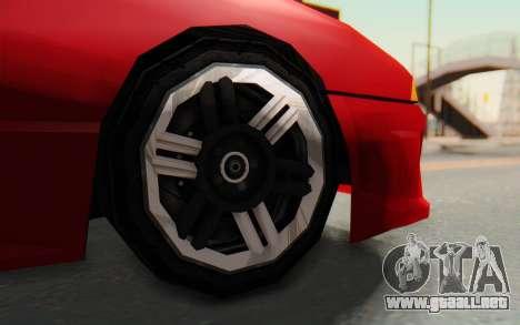 Elegy GT v1 para visión interna GTA San Andreas