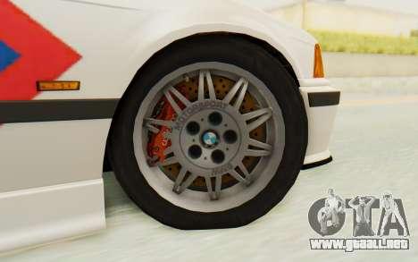 BMW M3 E36 Police Indonesia para visión interna GTA San Andreas