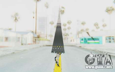 Misteltein Weapon para GTA San Andreas segunda pantalla