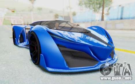GTA 5 Grotti Prototipo v1 para la visión correcta GTA San Andreas