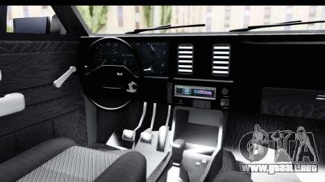 Chevrolet Chevette SL para visión interna GTA San Andreas