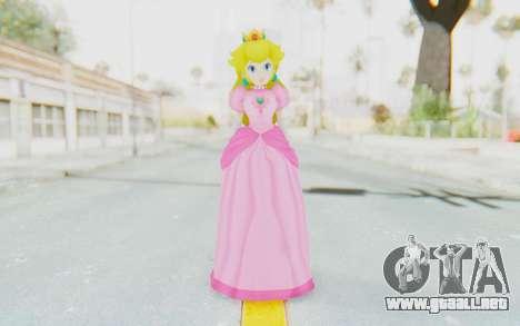 Princess Peach para GTA San Andreas segunda pantalla