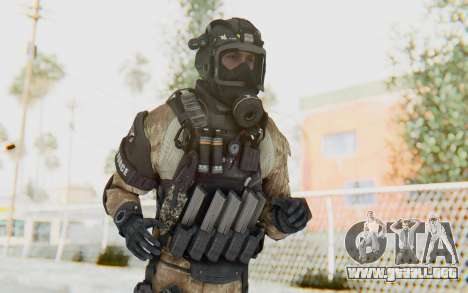 Federation Elite SMG Desert para GTA San Andreas