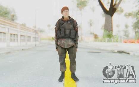 COD MW2 Russian Paratrooper v4 para GTA San Andreas segunda pantalla