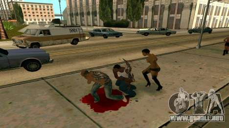 Prince Of Persia Water Sword para GTA San Andreas tercera pantalla