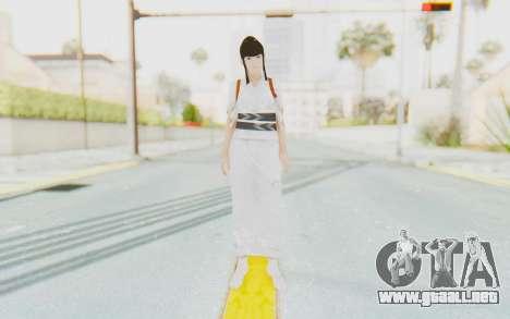 Kazumi Mishima para GTA San Andreas segunda pantalla