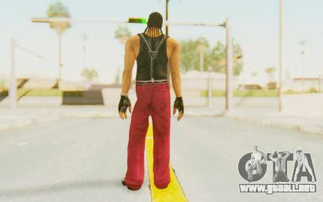 Def Jam Fight For New York - Snoop Dogg para GTA San Andreas tercera pantalla