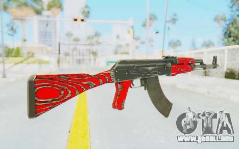 CS:GO - AK-47 Laminate Red para GTA San Andreas segunda pantalla