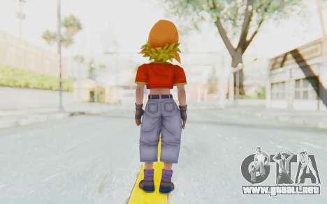 Dragon Ball Xenoverse Pan SSJ para GTA San Andreas tercera pantalla