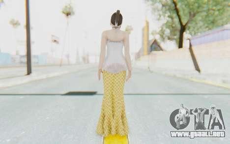 Linda Meilinda Kebaya para GTA San Andreas tercera pantalla