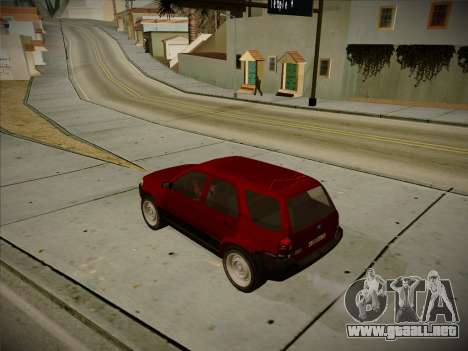 Ford Escape 2005 para GTA San Andreas vista posterior izquierda