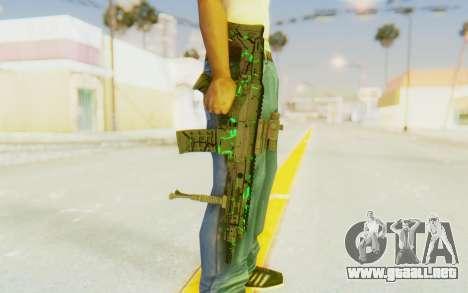 ACR CQB Magma Green para GTA San Andreas