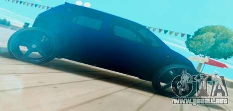 Daewoo Matiz R20 Vossen para GTA San Andreas left
