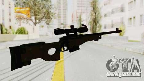L96 para GTA San Andreas tercera pantalla