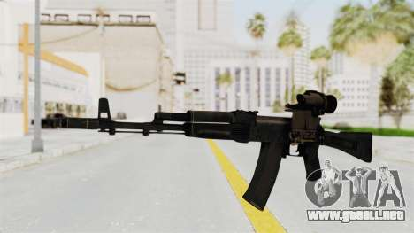 AK-74M v4 para GTA San Andreas