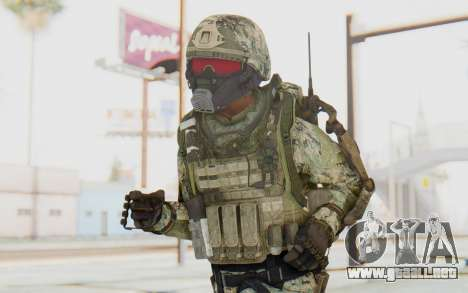CoD AW US Marine Assault v2 Head B para GTA San Andreas