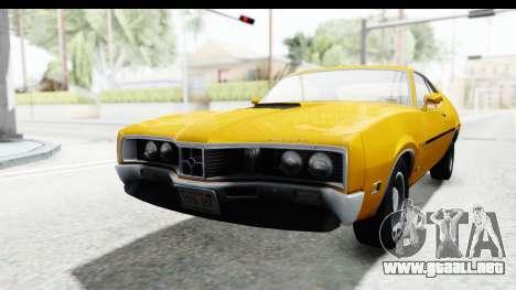 Mercury Cyclone Spoiler 1970 IVF para GTA San Andreas