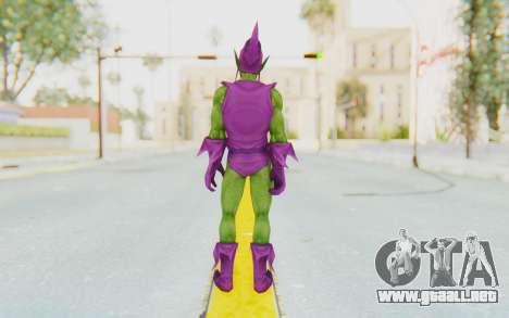 Marvel Future Fight - Green Goblin para GTA San Andreas tercera pantalla
